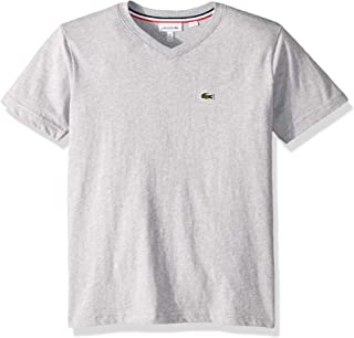 Lacoste Boys' V-Neck Cotton T-Shirt
