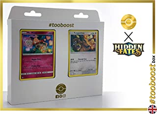 Mr. Mime 43/68 & Kangaskhan (Kangourex) 47/68 - #tooboost X Sun & Moon 11.5 Hidden Fates - Coffret de 10 Cartes Pokémon Aglaises