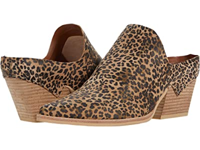 Dolce Vita Lindsy (Tan/Black Dusted Leopard Suede) Women