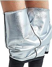 Afslankbroek voor dames, saunabroek Gewichtsverliesbroek, saunabroek met hoge taille Heet thermisch neopreen saunazweet