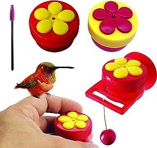 AROMA TREES Handheld Hummingbird Feeders Original Design with Perch (Mix Color) (2, Mix)