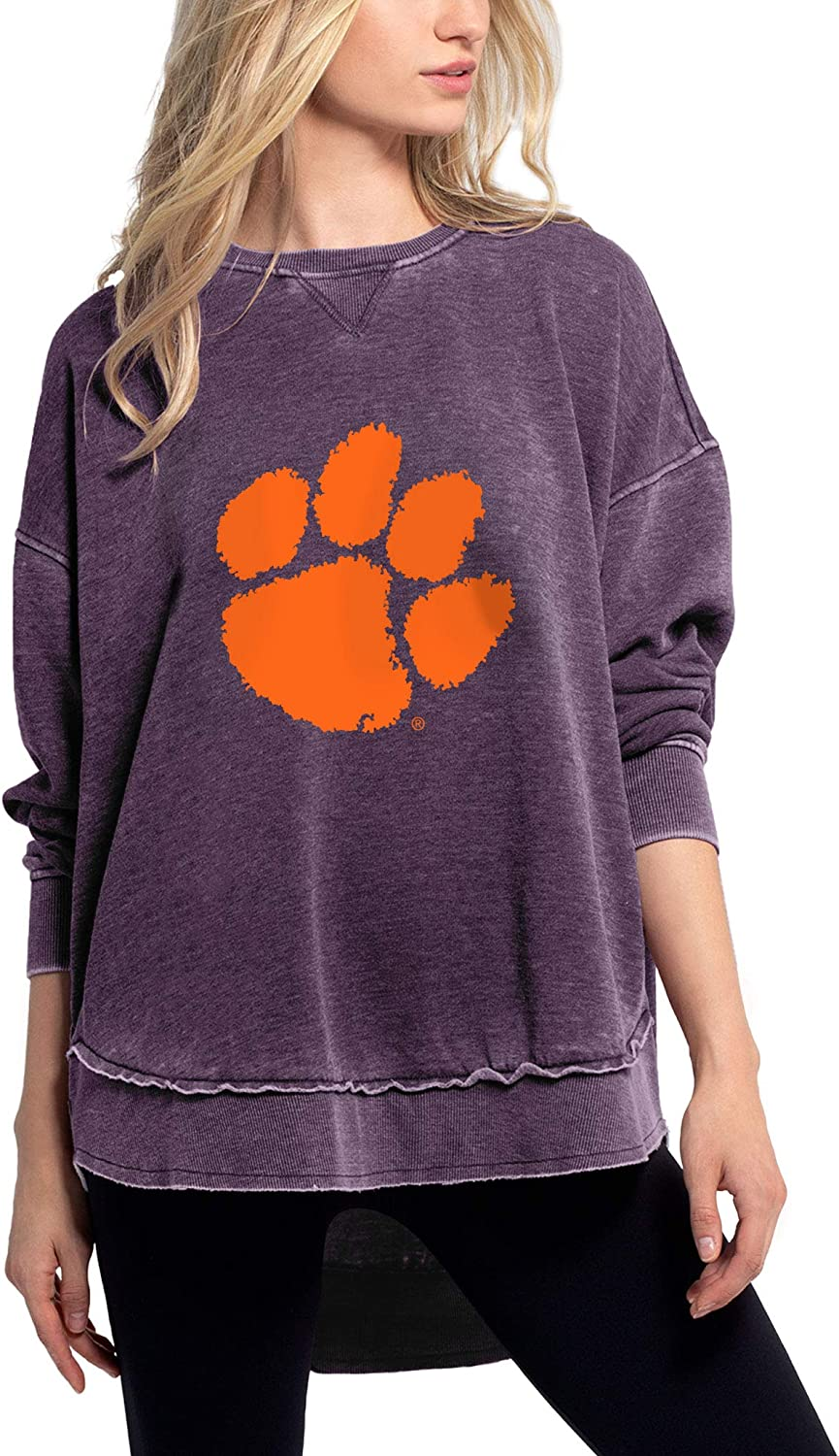 chicka-d Women's Burnout Pullover New York Mall New Orleans Mall Campus