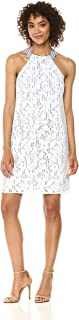 Maggy London womens Lace Cocktail Halter Dress Cocktail Dress