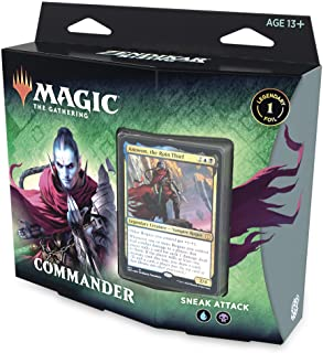 Magic: The Gathering Zendikar Rising Commander Deck – Sneak Attack | 100 Card Ready-to-Play Deck | 1 Foil Commander | Blue...