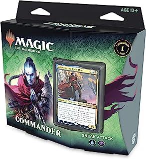 Magic: The Gathering Zendikar Rising Commander Deck – Sneak Attack | 100 Card..