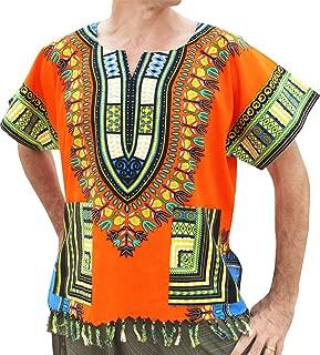 raan PAH muang raanpahmuang BOLD 棉质大喜吉中性款非洲衬衫带流苏和口袋