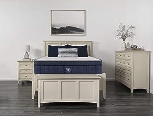 """Brooklyn Aurora 13"""" Luxury Cooling Gel Hybrid Mattress"""