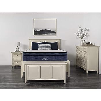 """Brooklyn Aurora 13"""" Luxury Cooling Gel Hybrid Mattress, Full Medium"""