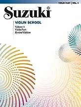 Suzuki Violin School - Volume 4 (Revised): Violin Part