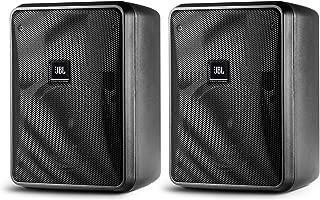 JBL Control 23-1 | Ultra Compact 3inch Two Way Vented Loudspeaker Black Pair