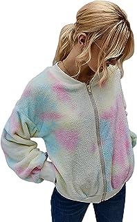 Chigant Women's Coat Casual Lapel Fleece Fuzzy Faux Shearling Warm Winter Oversized Outwear Jackets with Pockets