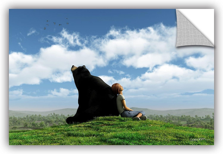 ArtWall 0dec006a1624p Cynthia Decker's Cloud Watchers, Art Appeelz Removable Wall Art Graphic, 16Inch X 24Inch