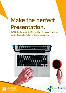 OneAssist 1 Year Damage Protection Plan for Laptops from Rs 120000 to Rs 150000 - for B2B, Email Delivery- No Physical Kit
