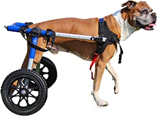 Walkin' Wheels Dog Wheelchair - for Med/Large Dogs 50-69 Pounds - Veterinarian Approved - Dog Wheelchair for Back Legs