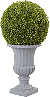 Nearly Natural 5965 2.5' Boxwood Topiary with Urn (Indoor/Outdoor)