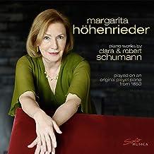 Höhenrieder: Piano Works by Clara & Robert Schumann [Margarita Höhenrieder ] [Solo Musica: SM312]