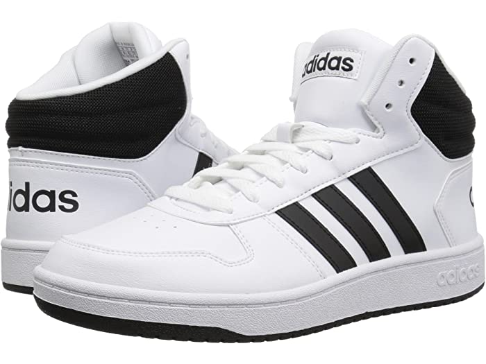 adidas Mens Hoops 2.0 Mid Track Shoe