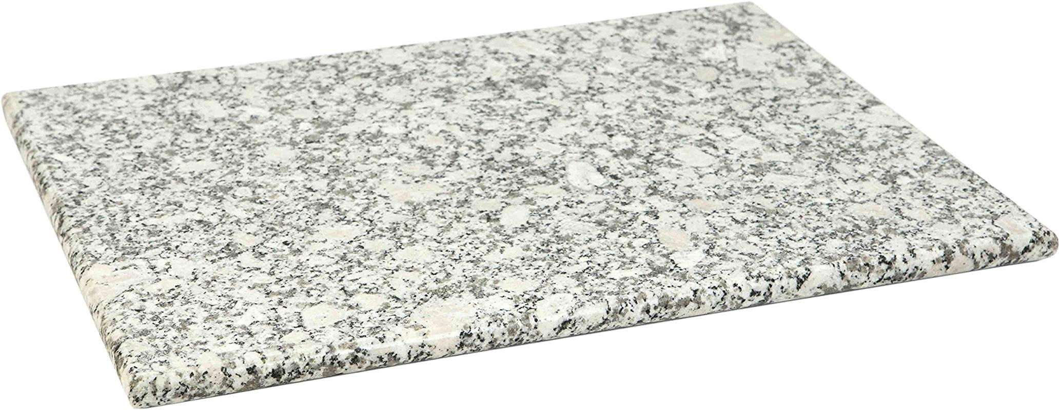 Home Basics Granite Cutting Board 12 X 16 White