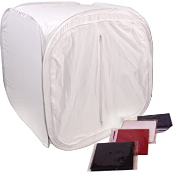 G-Star Photography 24 Inch Studio Photo Light Tent Lighting Box w// 4 Backdrops
