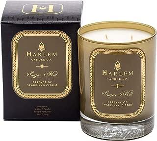 Harlem Candle Company Sugar Hill Luxury Candle, Large 12 oz Jar Candle