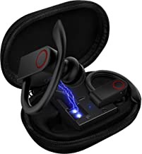 Upgrade Bluetooth KUGIIPA Earbuds 5.0 Bluetooth Headphones with Charging Case,8-10H Playtime Wireless Earbuds, IPX8 Waterproof, CVC Noise-Canceling Headphones with Built-in Microphon for Sports