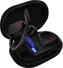 Upgrade Bluetooth Earbuds 5.0 Bluetooth Headphones with Charging Case,8-10H Playtime Wireless Earbuds, IPX8 Waterproof, CVC Noise-Canceling Headphones with Built-in Microphon for Sports,Workout,Gym photo