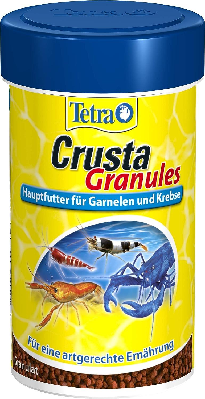 Tetra Crusta & Crab Alimento principal para gambas, cangrejos y cangrejos de tierra, diferentes formas de presentación
