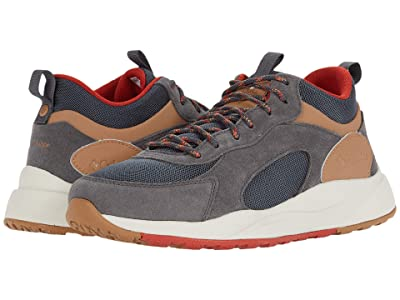 Columbia Pivottm Mid Waterproof (Dark Grey/Rust Red) Men