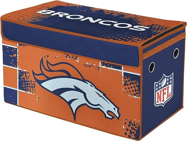 NFL Denver Broncos Collapsible Storage Trunk