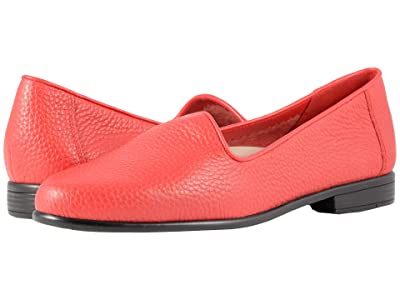 Trotters Liz Tumbled (Red Very Soft Leather) Women