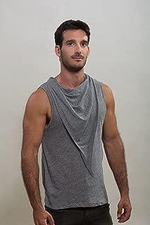 Mens Gray Shirt, Mans T-shirt, Design tshirt, Mens clothing, Man's Top, Handmade shirt, Unique shirt, gay shirt, Mens fashion clothing