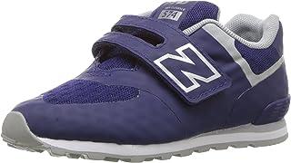 New Balance Kids' 574 Fashion Sneaker Breathe (Tod) HL Running Shoe