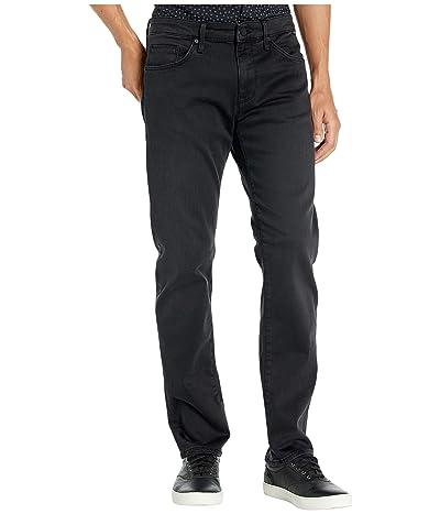 Mavi Jeans Zach Mid-Rise Straight Leg in Smoke Supermove (Smoke Supermove) Men
