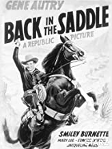 Best back in the saddle movie Reviews