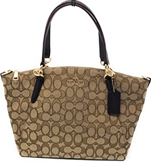 4bc4b9c15f80 SMALL KELSEY SATCHEL IN SIGNATURE JACQUARD