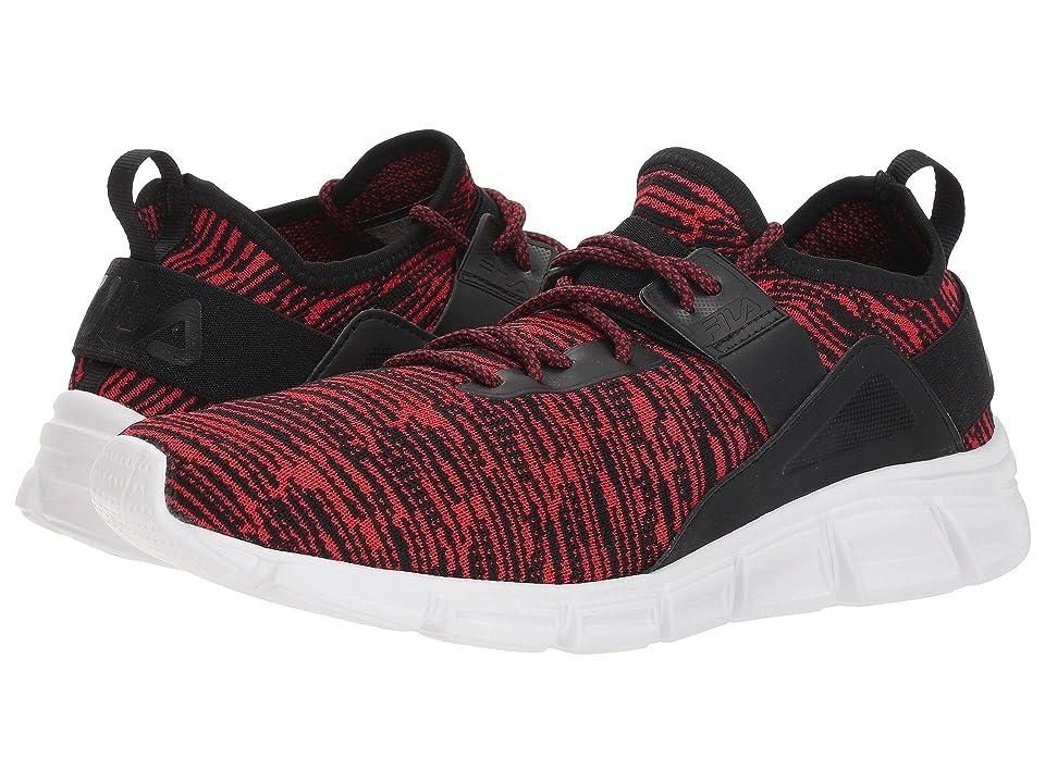 Fila Lombardi Running (Fila Red/Black/White) Men