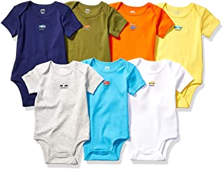 Amazon Essentials 7 Pack Short Sleeve Bodysuits