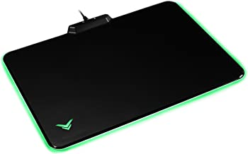 AmazonBasics Hard Gaming Mouse Pad with LED Lighting Effects