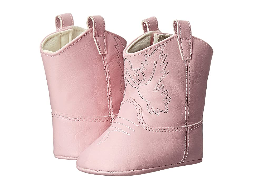 Baby Deer Western Boot (Infant) (Pink) Girls Shoes