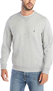 Men's Basic Crew Neck Fleece Sweatshirt