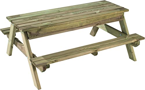 Kindertisch mit Sandkasten Arielle