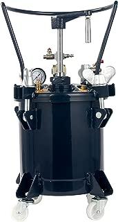 YaeTek Commercial 2.5 Gallon (10 liters) Spray Paint Pressure Pot Tank with Manual Mixing Agitato