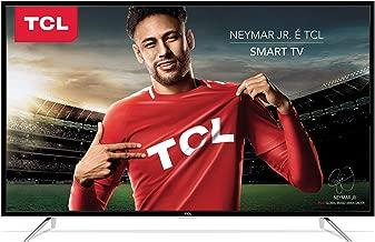 """Smart TV LED 32"""" HD, TCL L32S4900S, Preta"""
