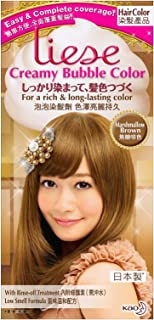 KAO Liese Soft Bubble Hair Color (Marshmallow Brown)