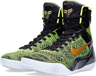 Mens Kobe IX Elite Flyknit Restored Victory High Basketball Shoes Sz 17