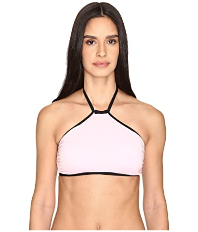 Kate Spade New York Plage Du Midi High Neck Bikini Top (Cherry Blossom) Women