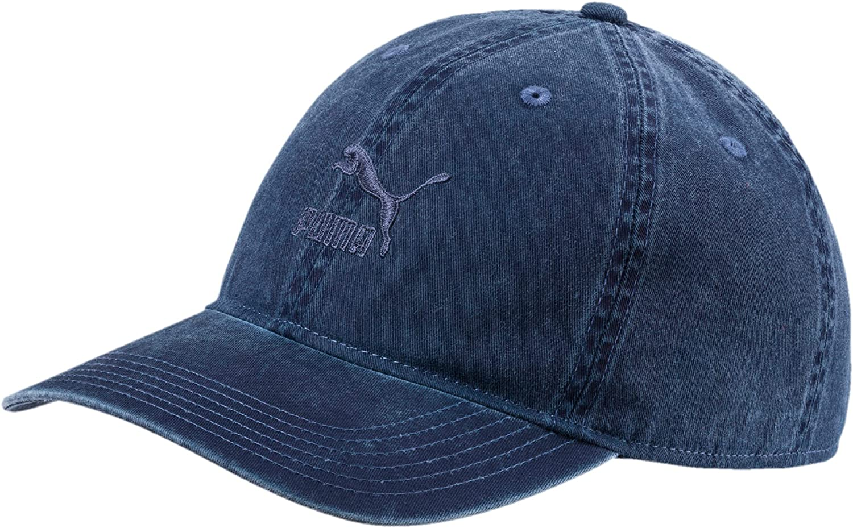 PUMA Mens Archive Baseball Cap - Black