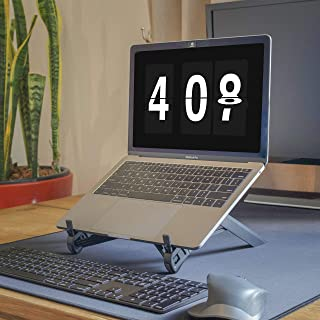 NEXSTAND K7 Laptop Stand Folding Portable Laptop Lapdesks, Office Lapdesks, Ergonomic Notebook Stand