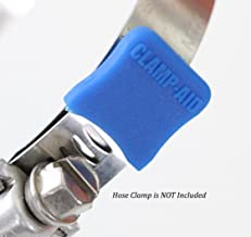 CLAMP-AID Brand Blue Hose Clamp end Covers for 1/2