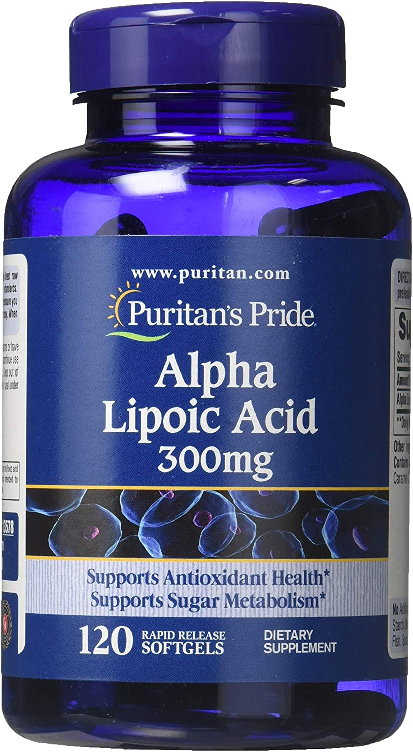Alpha Lipoic by Puritan's Japan safety Maker New Pride Health Supports 30 Antioxidant